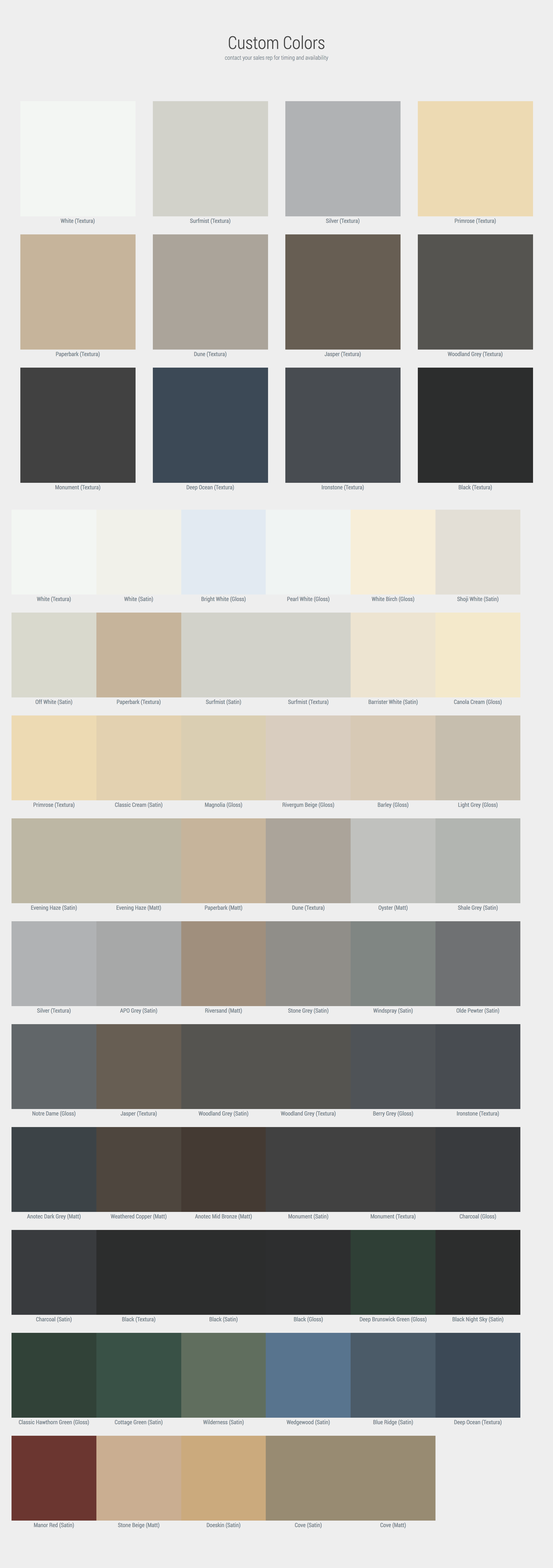 , Solid Colors