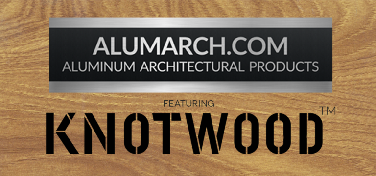 Alumarch Knotwood Woodgrain Aluminum, Home
