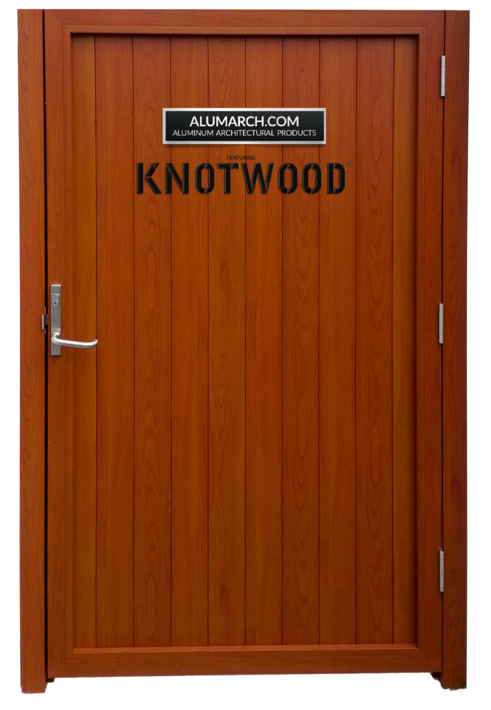 alumarch knotwood gate